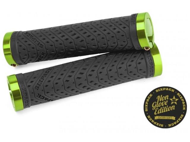 Sixpack K-Trix Lock-On Griffe Non Glove black/electric-green